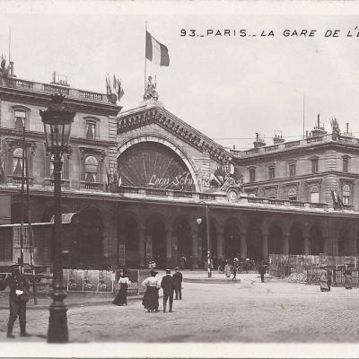 93 - La Gare de l'Est