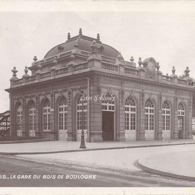 96 - La Gare du Bois de Boulogne