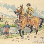 1261 - La Cavalière en promenade