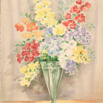 1472 - Fleurs en Vase
