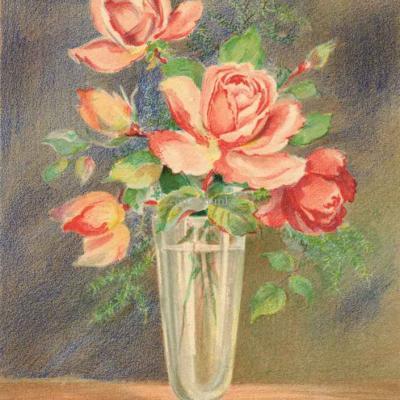 1473 - Fleurs en Vase