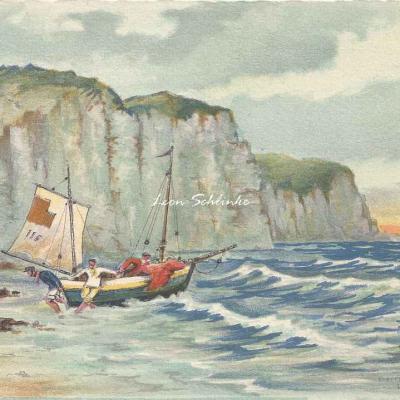 1496 - Barques et Falaises
