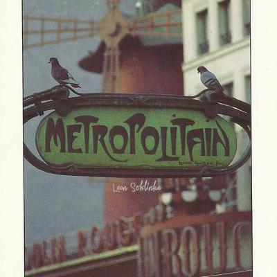 A.Baudry 10071 - Le Métro et le Moulin Rouge