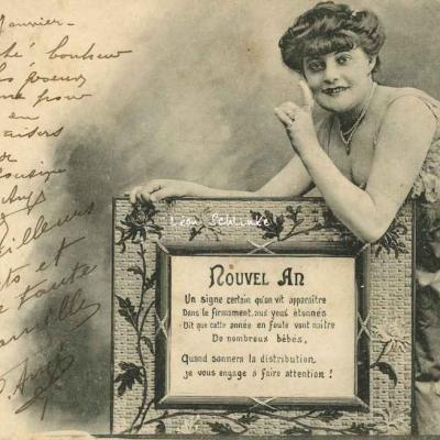 A.Bergeret - Nouvel An 1903