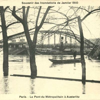 A.Bréger - Le Pont du Métropolitain à Austerlitz