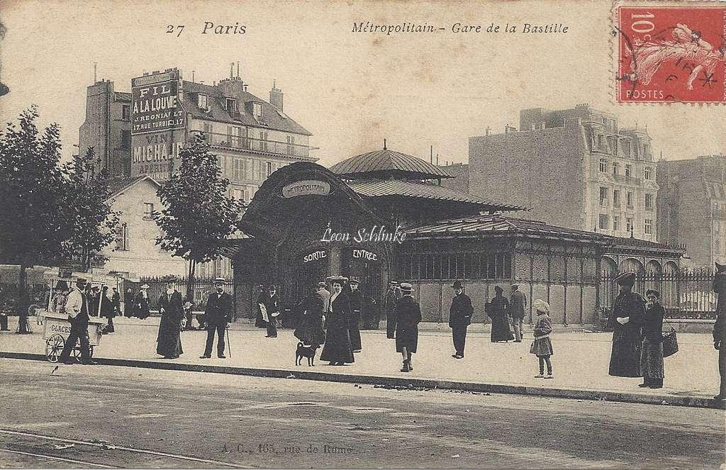 A.C.27 - Métropolitain - Gare de la Bastille