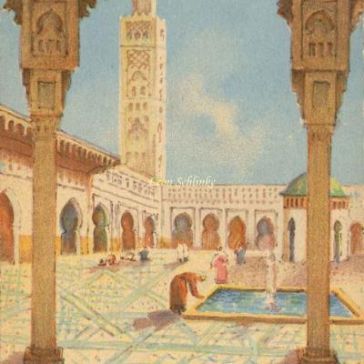 3500 - Scènes Marocaines