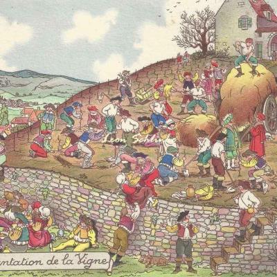 1421 - La Vigne et le Vin