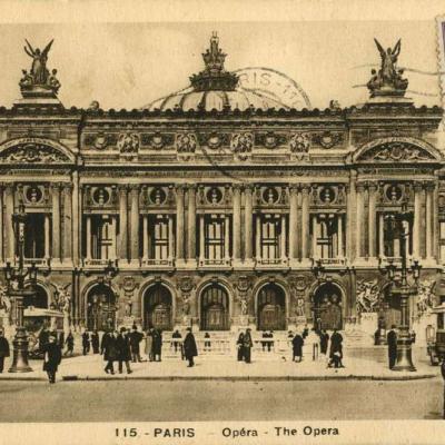 A. Leconte 115 - PARIS - Opéra