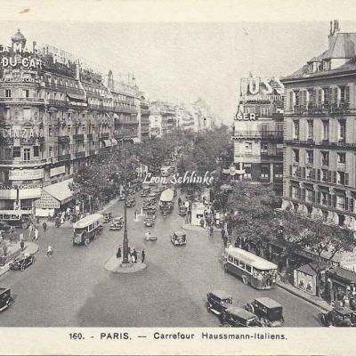 A. Leconte 160 - Carrefour Haussmann-Italiens