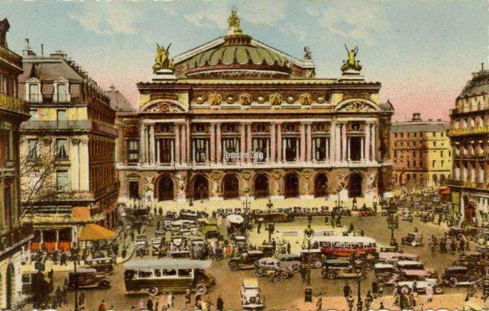 A. LECONTE 214 - PARIS ET SES MERVEILLES - Place de l'Opéra
