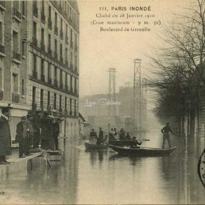 A.Noyer 111 - PARIS INONDE - Boulevard de Grenelle