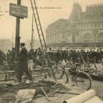 A.Noyer 114 - PARIS INONDE - Campement de Sauveteurs à la Gare de Lyon