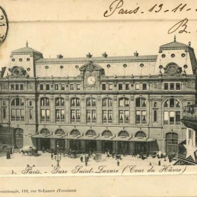 A. Perret 3 - Paris - Gare Saint-Lazare (Cour du Hâvre)