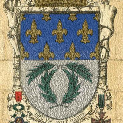 1324 -  Blasons - Villes de France