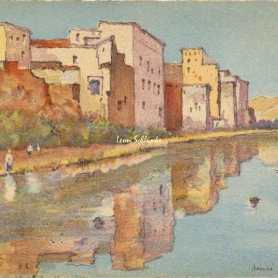 3507 - Scènes Marocaines