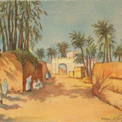 3508 - Scènes Marocaines