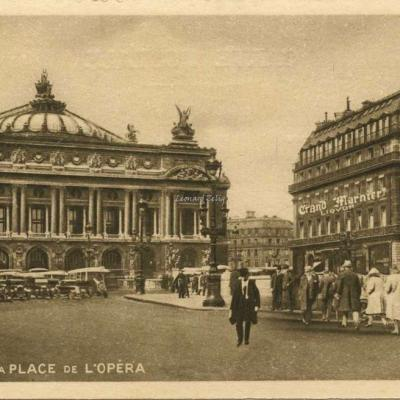 A.Wellhoff, imp. - PARIS - La Place de L'Opéra