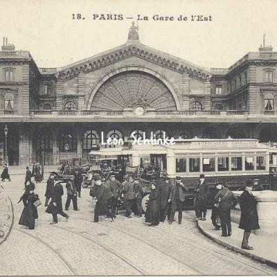 AB 18 - La Gare de l'Est