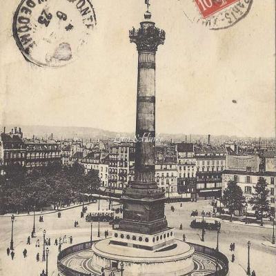Abeille 105 - Colonne de Juillet, place de la Bastille