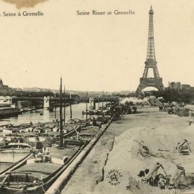 Abeille 114 - La Seine à Grenelle