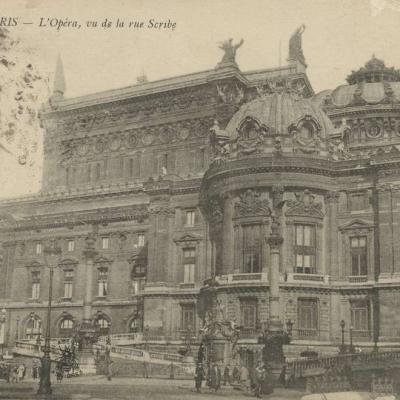 Abeille 150 - PARIS - L'Opéra, vu de la rue Scribe