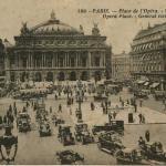 Abeille 199 - PARIS - Place de l'Opéra - Vue générale