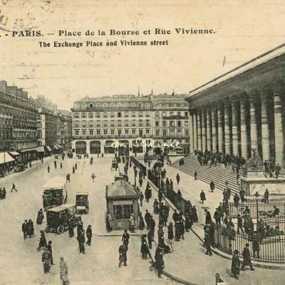 Abeille 209 - Place de la Bourse et Rue Vivienne