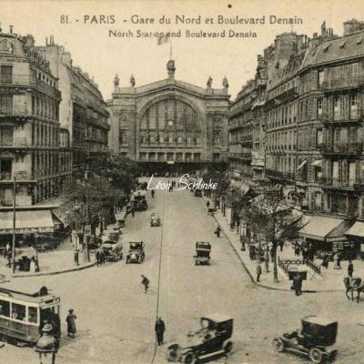 Abeille 81 - Gare du Nord et Boulevard Denain