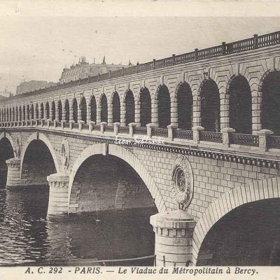 AC 292 - Le Viaduc du Métropolitain à Bercy