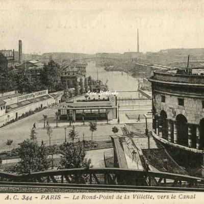 AC 344 - Le Rond-Point de la Villette, vers le Canal