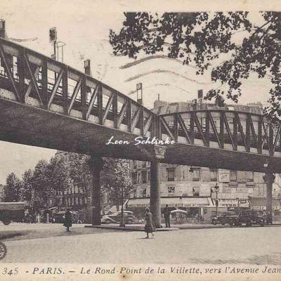 AC 345 - Le Rond·Point de la Villette, vers l'Avenue J.Jaurès