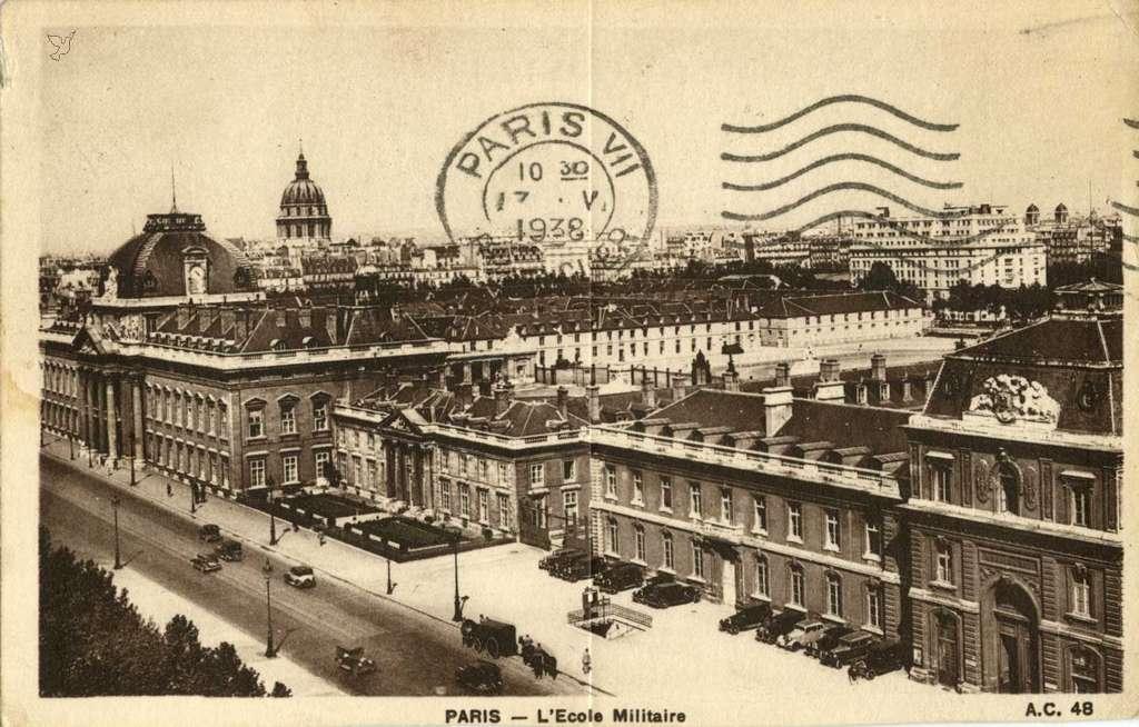 AC 48 - PARIS - L'Ecole Militaire