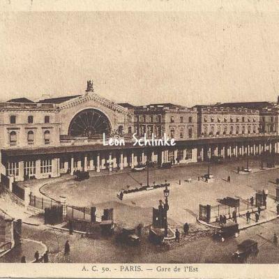 AC 50 - Gare de l'Est