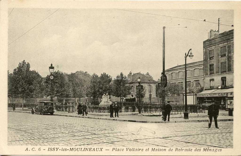 AC 6 - Issy les Mx - Place Voltaire et Maison de Retraite des Ménages