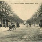 AD 18 - L'Avenue de la Grande-Armée et l'Etoile