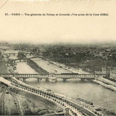 AD 47 - Vue générale de Poissy et Grenelle