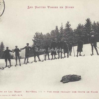 Ad. Weick - Les Hautes Vosges en Hiver