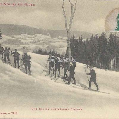 Ad. Weick - Les Vosges en Hiver