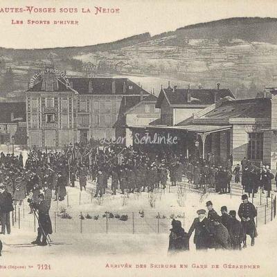 Ad. Weick - Les Hautes Vosges sous la Neige