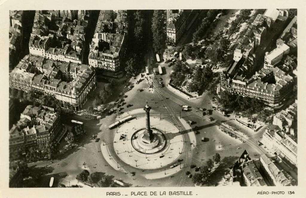 Aerophoto 134 - Place de la Bastille