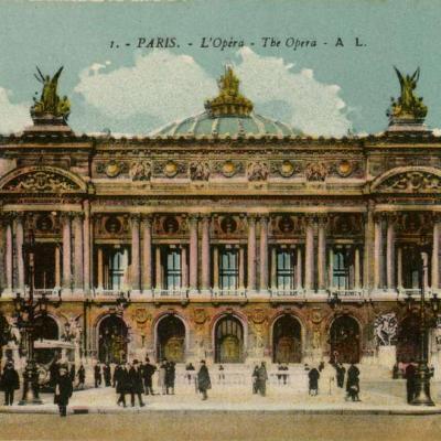 AL 1 - PARIS - L'Opéra