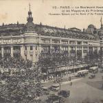AL 113 - Le Boulevard Haussmann et les Magasins du  Printemps