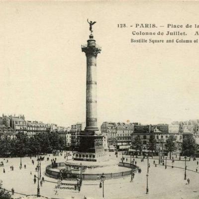 AL 128 - PARIS - Place de la Bastille - Colonne de Juillet