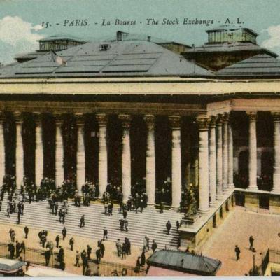 AL 15 - PARIS - La Bourse