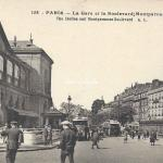 AL 158 - La Gare et le Boulevard Montparnasse