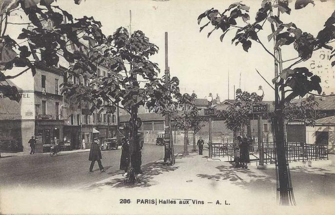 AL 286 - Paris, Halle aux Vins