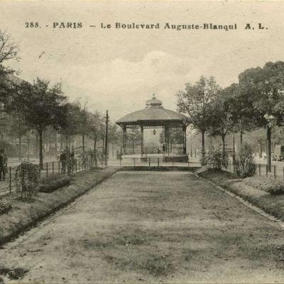 AL 288 - PARIS - Le Boulevard Auguste·Blanqui