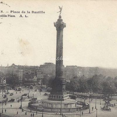 AL 33 - PARIS - Place de la Bastille