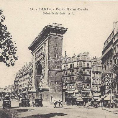 AL 34 - Porte Saint-Denis